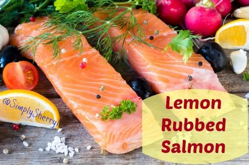 Lemon Rubbed Salmon