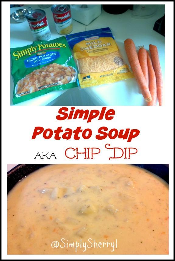 Simple Potato Soup aka Chip Dip