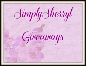 Current listing of open giveaways running on www.simplysherryl.com