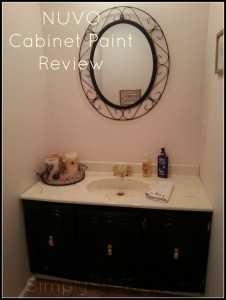 NUVO Cabinet Paint Review