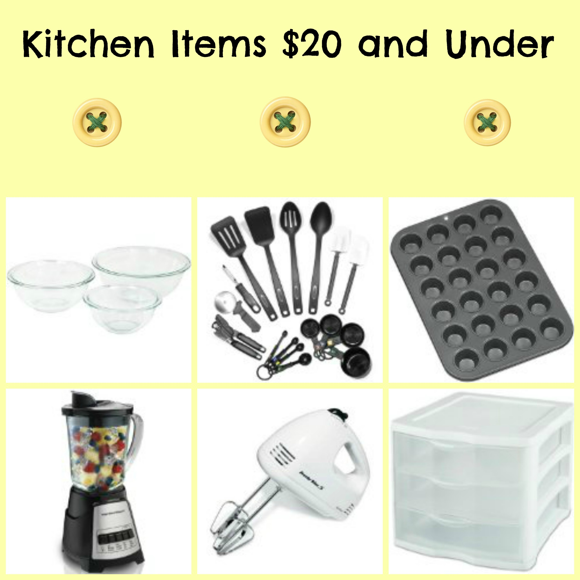 Kitchen Deals on Amazon for $20 or Less
