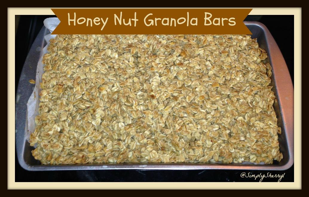 Honey Nut Granola Bars | Simply Sherryl