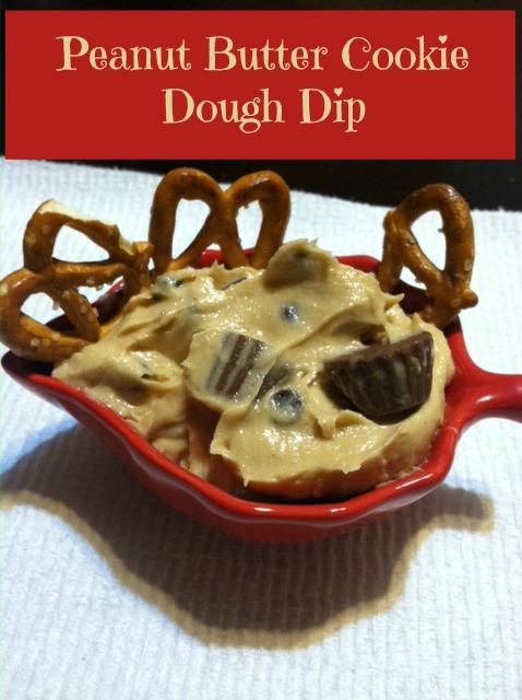 Peanut Butter Cookie Dough Dip   Simply Sherryl