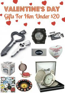... Valentines Day Gifts for Him Under $20! Each is available right now on
