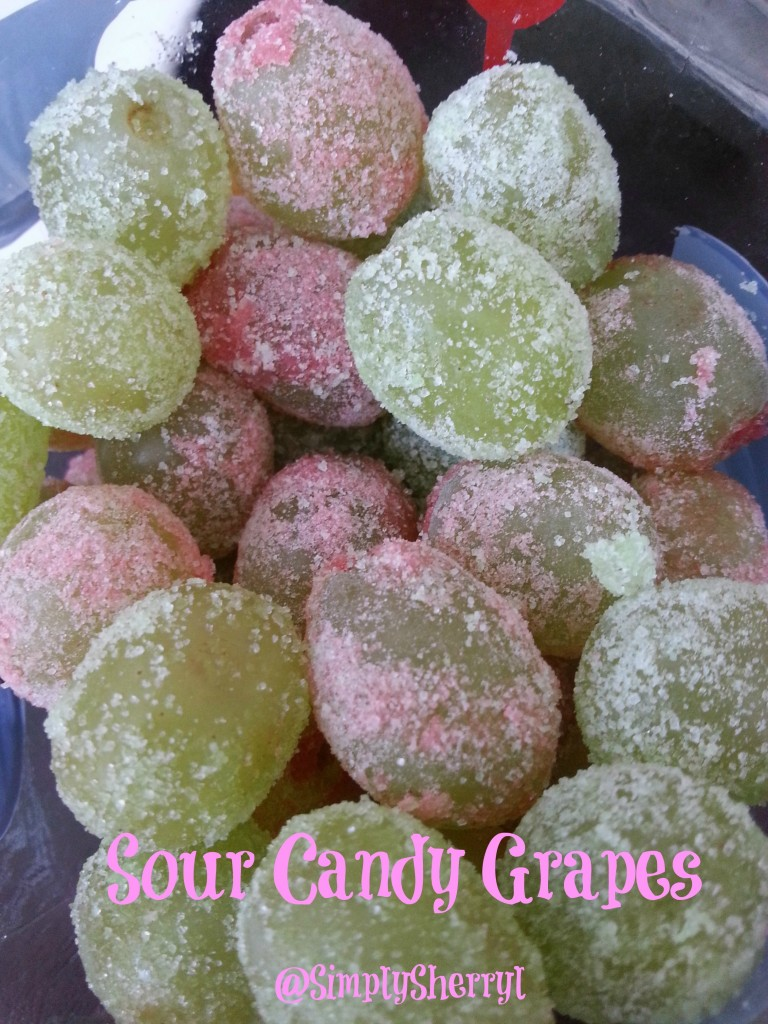 Sour Candy Grapes