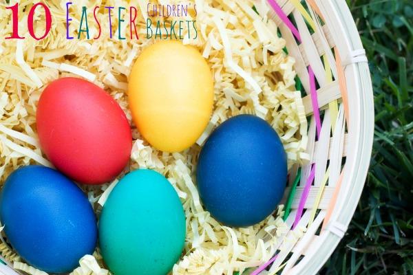 10 Children's Easter Baskets