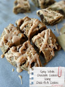 Spicy White Chocolate Cookies Using Chick-fil-A Cookies