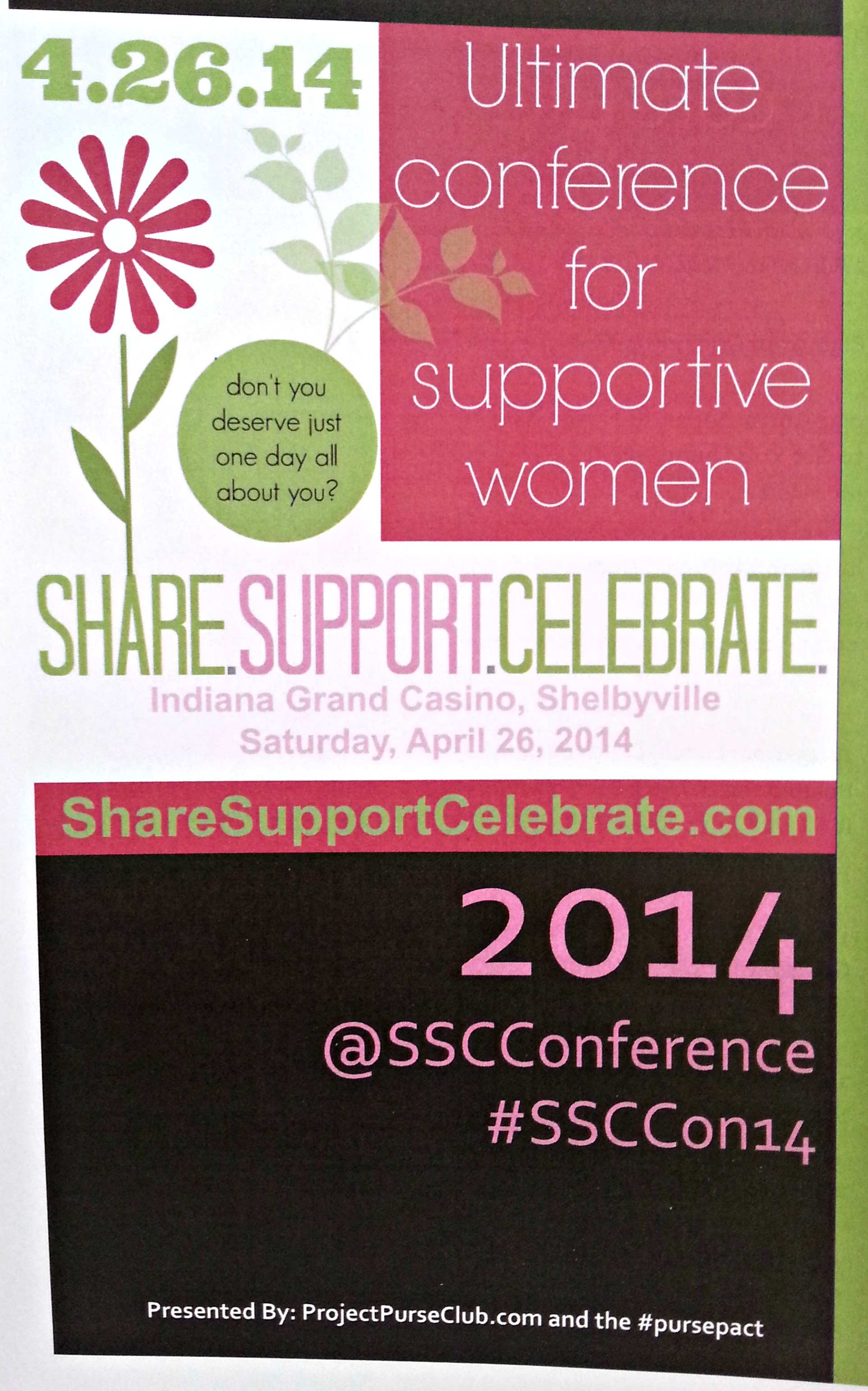 Share.Support.Celebrate Conference