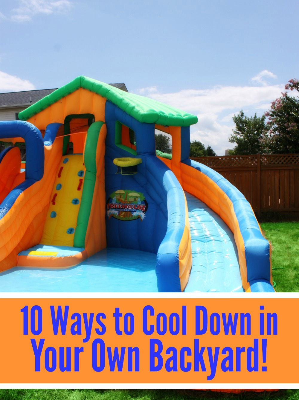 10 Ways to Cool Down in Your Own Backyard | Simply Sherryl