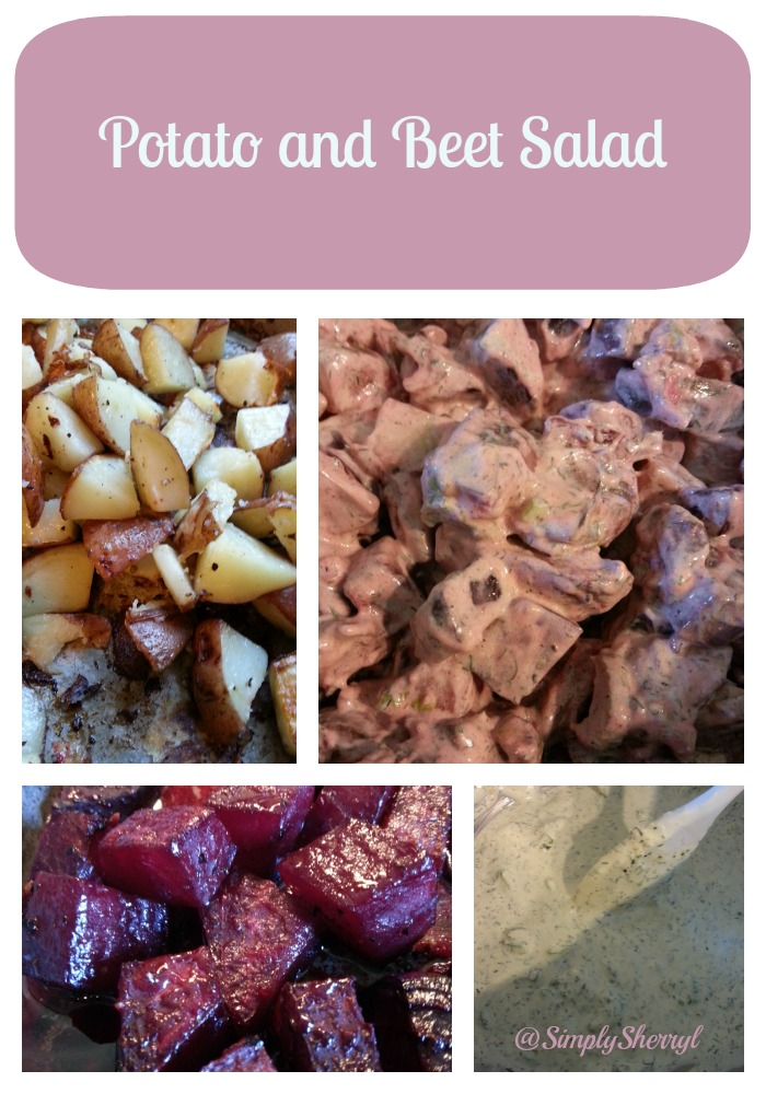 Potato and Beet Salad