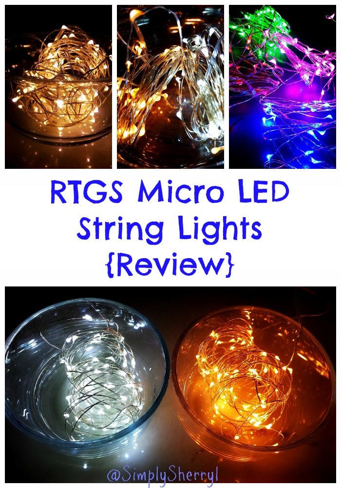 RTGS Micro LED String Lights {Review}