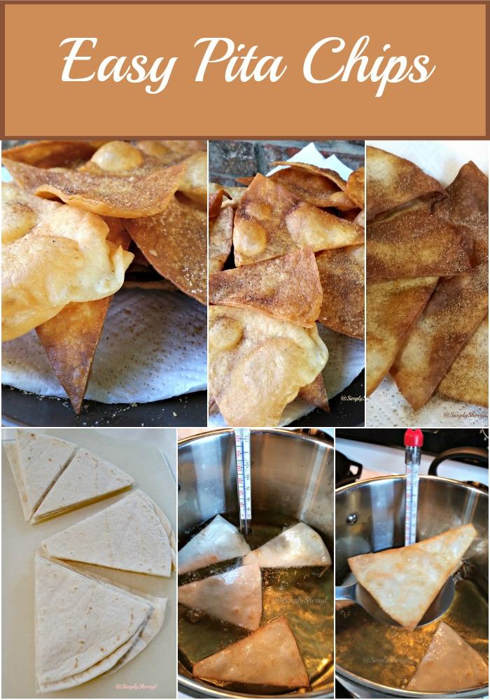 Easy Pita Chips | Simply Sherryl