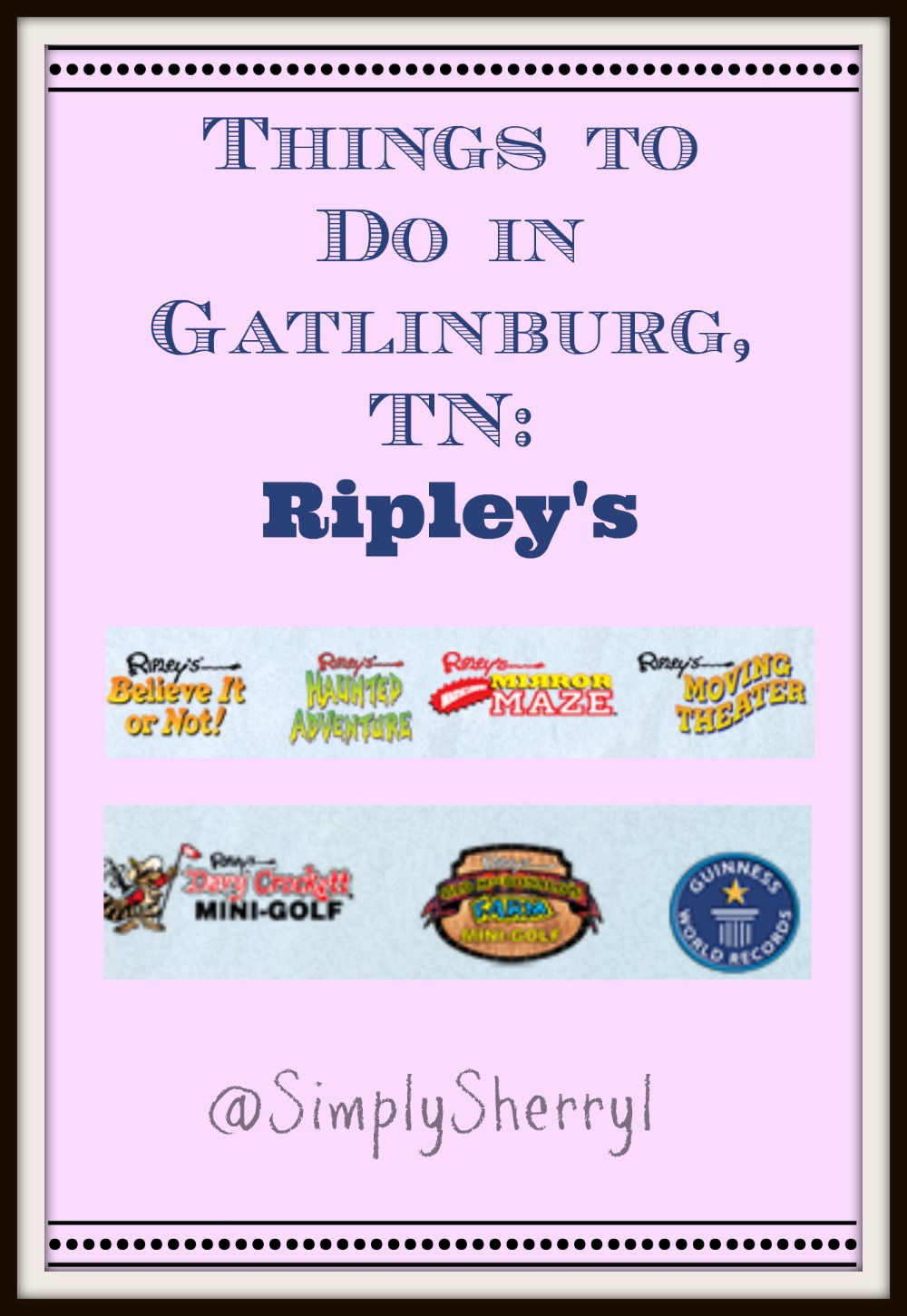 Ripley's in Gatlinburg {Review}