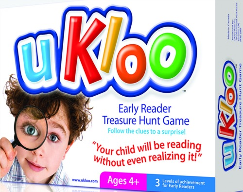 Ukloo - Early Reader Treasure Hunt Game
