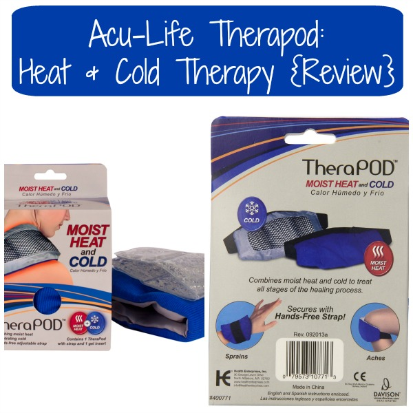 Acu-Life Therapod: Heat & Cold Therapy {Review}