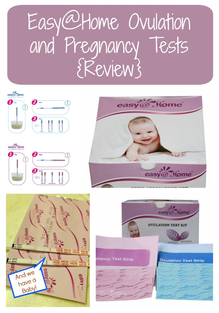 Easy@Home Ovulation and Pregnancy Tests {Review}