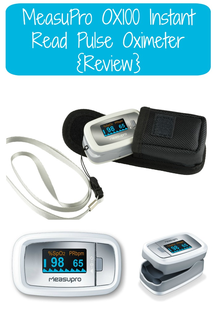 MeasuPro OX100 Instant Read Pulse Oximeter {Review}