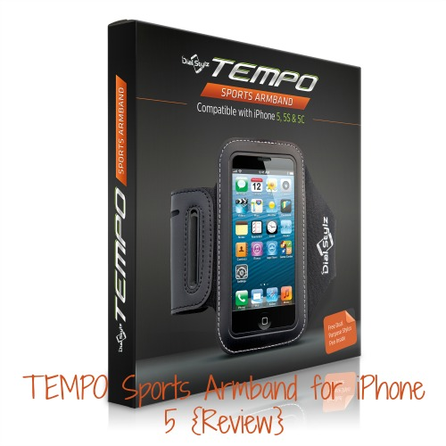 TEMPO Sports Armband for iPhone 5 {Review}