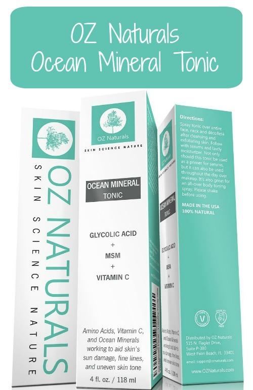 OZ Naturals Ocean Mineral Tonic