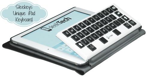 Sleekeys Unique iPad Keyboard {Review}