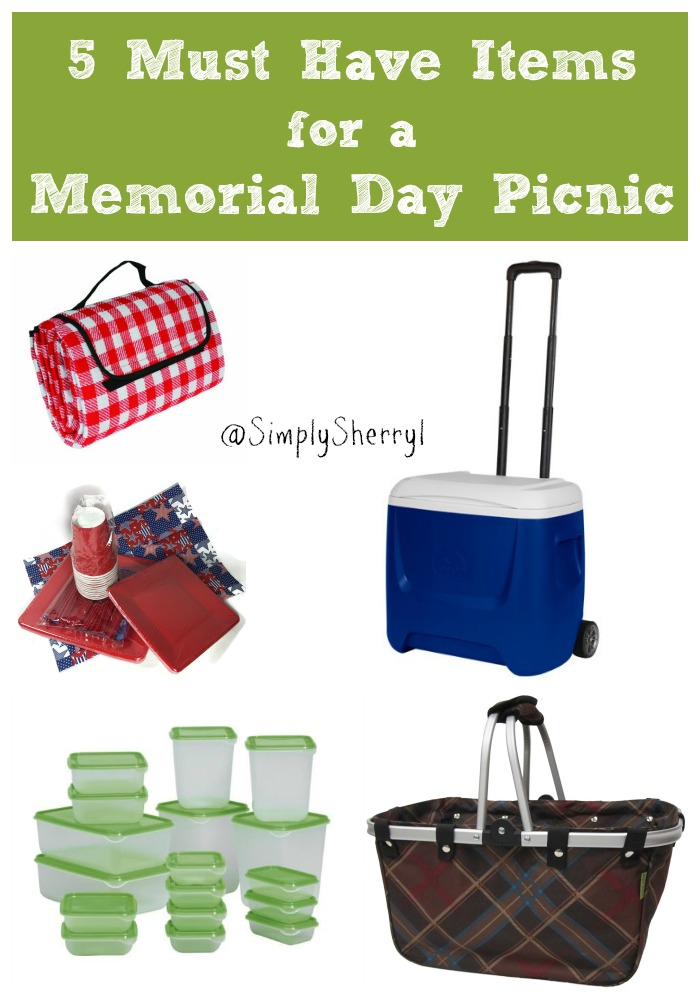 5 Must Have Items for a Memorial Day Picnic