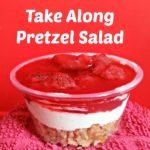 Take Along Pretzel Salads