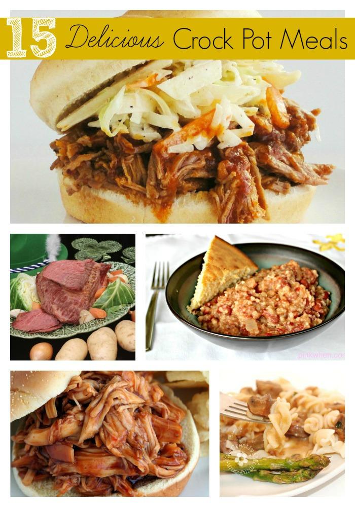 15 Delicious Crock Pot Meals