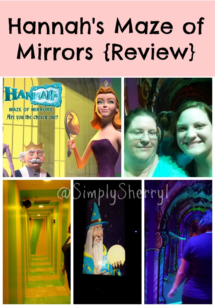 Hannah's Maze of Mirrors {Review}