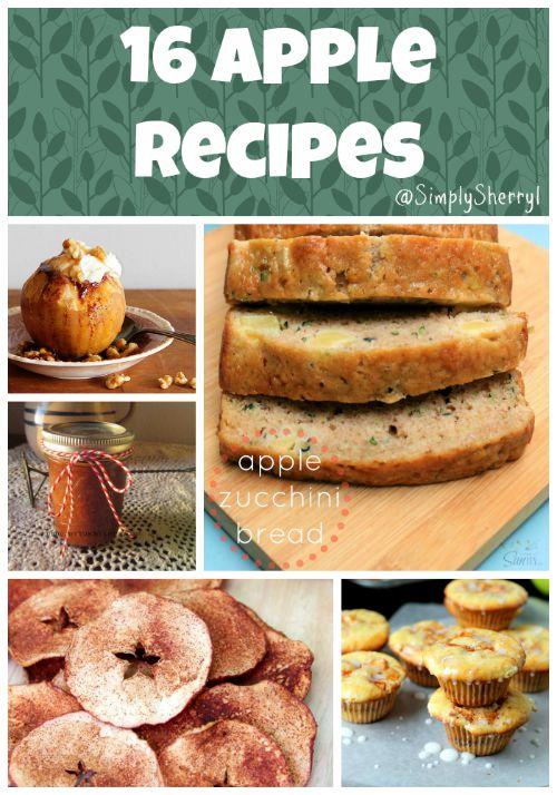 16 Apple Recipes