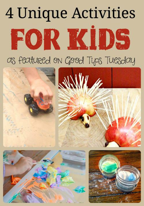 4 Unique Activities for Kids