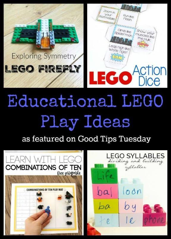 Educational LEGO Play Ideas