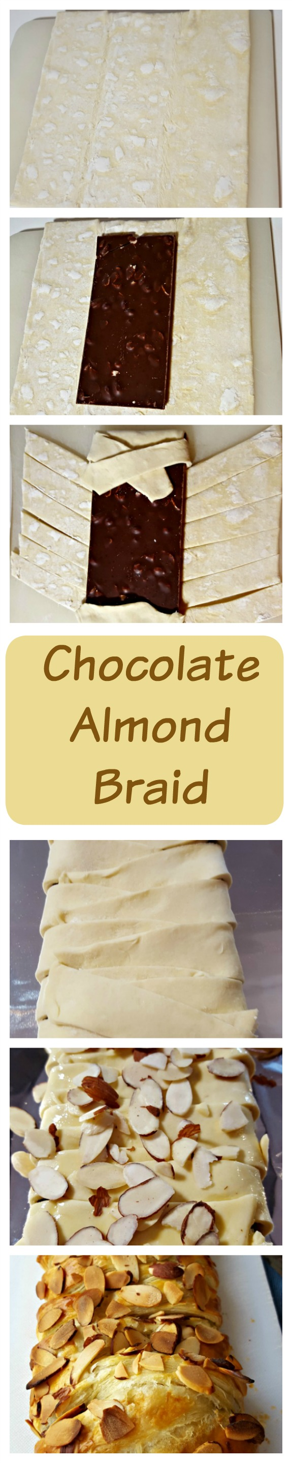 Chocolate Almond Braid