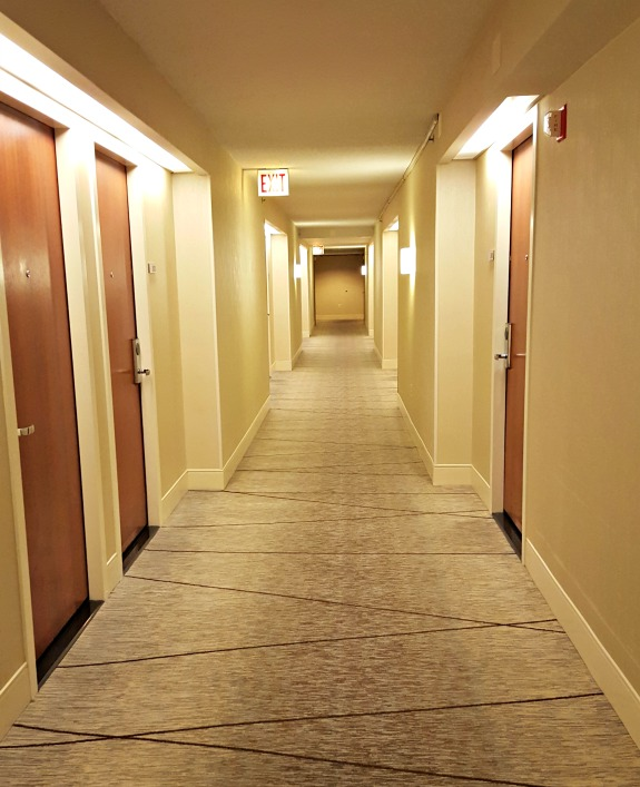 McCormick Place Hyatt Hallways
