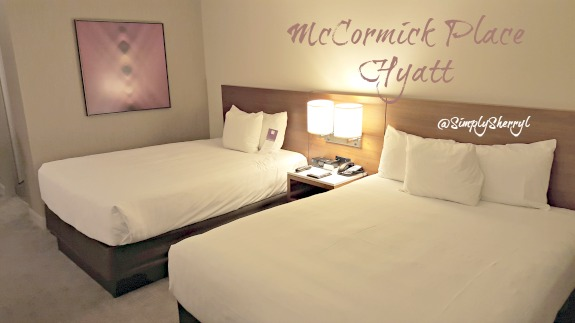 McCormick Place Hyatt Room