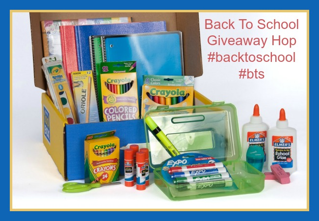 Mega School Supplies Kit in a Keepsake Box from School Tool Box
