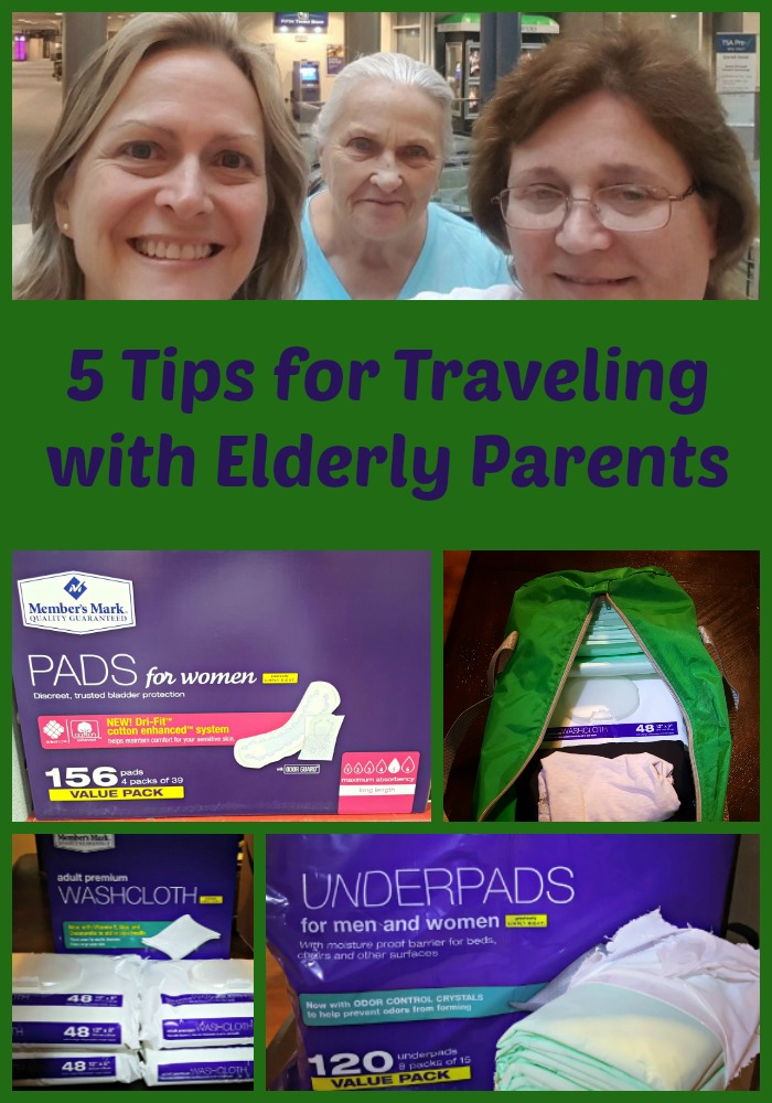 Tips for Traveling with Parents