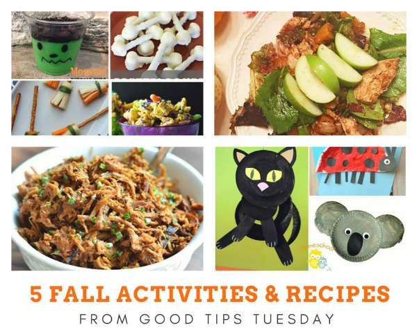 5 Fall Activities & Recipes