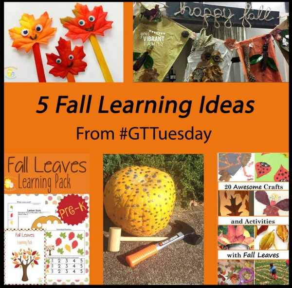 5 Fall Learning Ideas