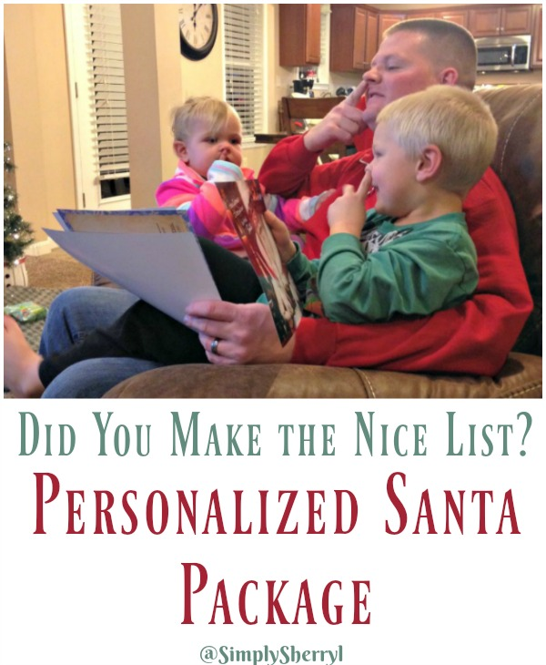 Personalized Santa Package