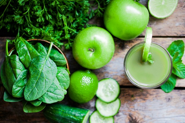 Green Muscle Mender Smoothie
