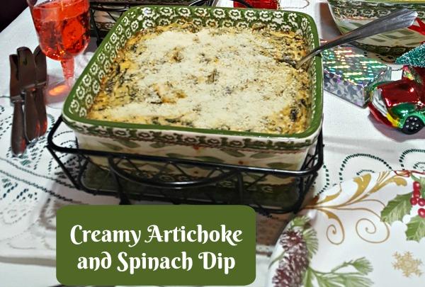 Creamy Artichoke and Spinach Dip