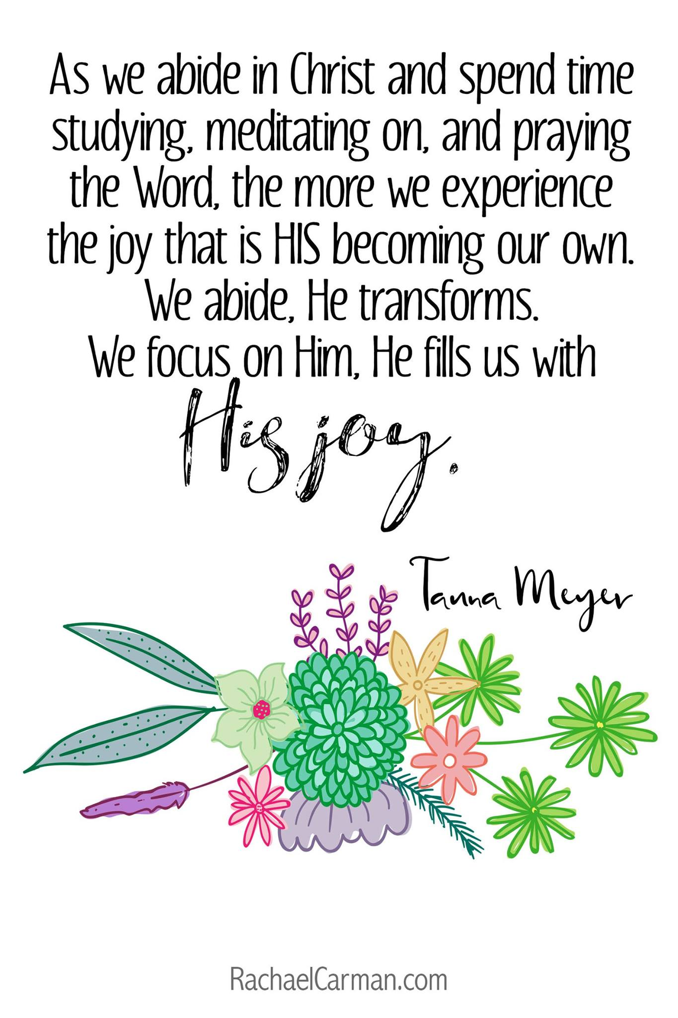 Our theme for April is Faith