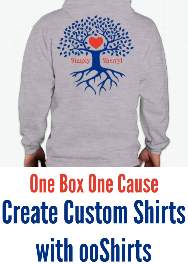 One Box One Cause With ooShirts