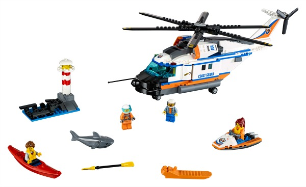 Heavy-duty Rescue Helicopter