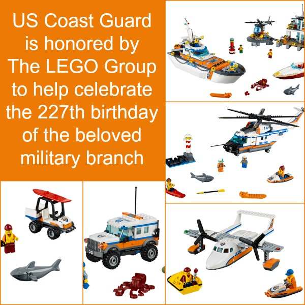 Lego Honors US Coast Guard