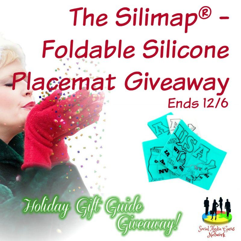 Foldable Silicone Placemat Giveaway