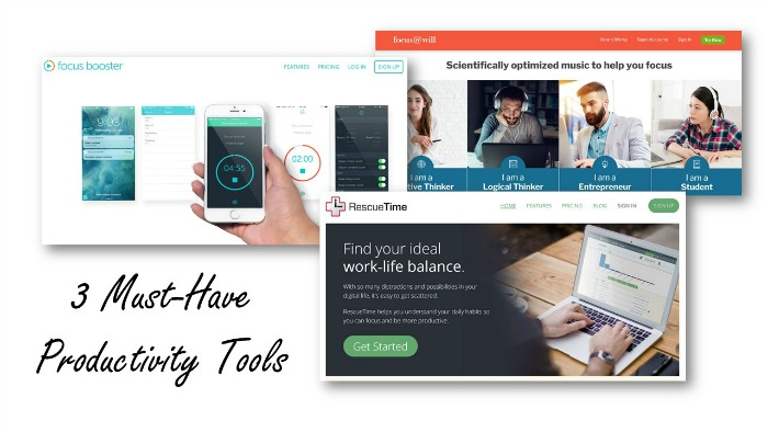Productivity Tools to Reach Your Goals Faster