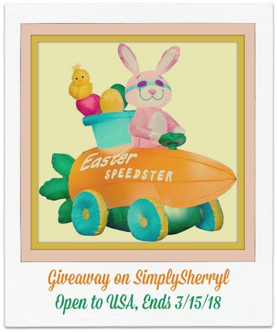 Easter Bunny Speedster Giveaway