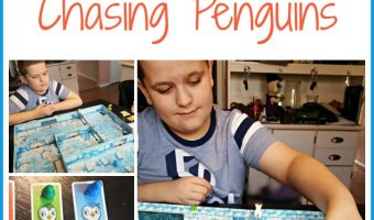 Ice Cool Game of Chasing Penguins