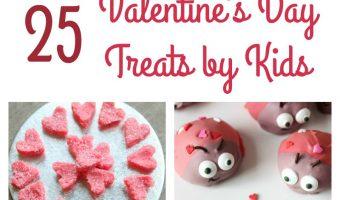 Valentine's Day Treats by Kids